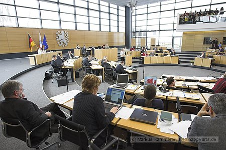 Plenarsaal Thueringer Landtag